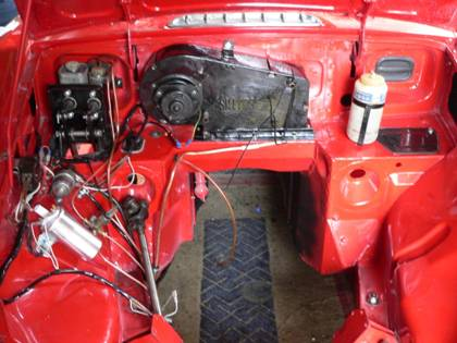 an mgb rebuild rh thechillifarm co uk 1973 MGB Wiring -Diagram mgb wiring loom route